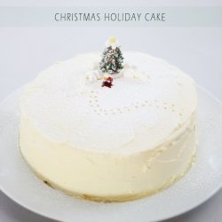White Christmas Cake recipe