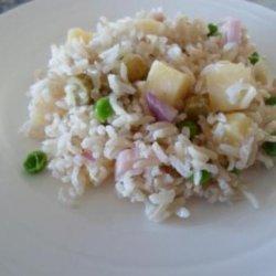 Caleen's Patio Rice Salad recipe