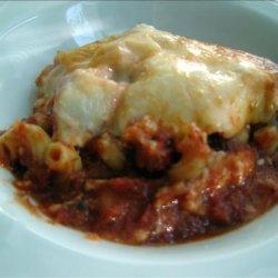 Chicken and Macaroni in Tomato Sauce recipe