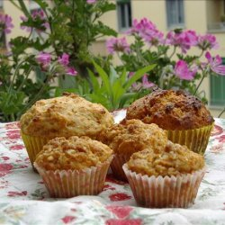 Carrot and Almond Muffins recipe