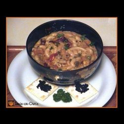 Cheesastronie Soup or Leftover Tuna Macaroni Casserole Soup recipe