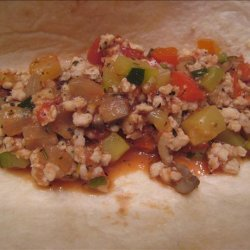 Chunky Italian Turkey Taco Filling recipe