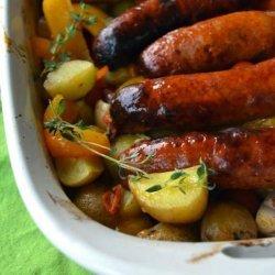 Italian Sausage Bake recipe