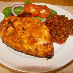Grilled Chicken With Root Beer Sauce recipe