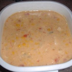 Cheesy Chicken and Corn Chowder recipe