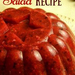 Holiday Cranberry Salad recipe