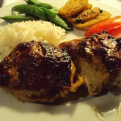 Hoisin Glazed Chicken Thighs recipe