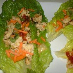 Thai Chicken Lettuce Wraps recipe