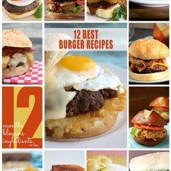 Chicken Cordon Bleu Burgers recipe