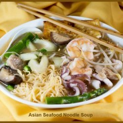 Asian Seafood Noodle Soup recipe