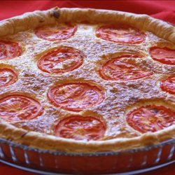 Salmon & Tomato Quiche recipe