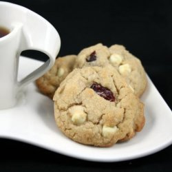 Cranberry White Chocolate Chip Cookies recipe