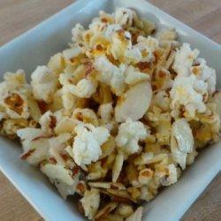 Almond Glazed Popcorn recipe