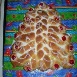 Christmas Tree Bread recipe
