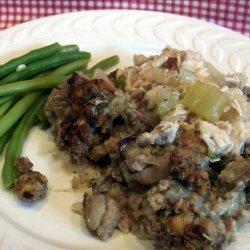 Turkey Casserole    Christmas in April  recipe