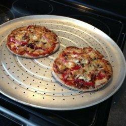 Lunch Pizza - Tortilla 6 Pts, Pita 7 Pts recipe