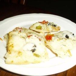 Homemade White Pizza recipe
