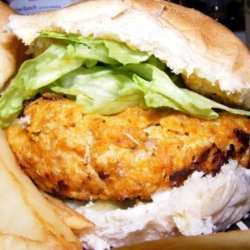 Chicken and Bacon Korma Burger recipe