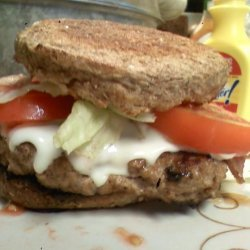 Turkey Caesar Burger recipe