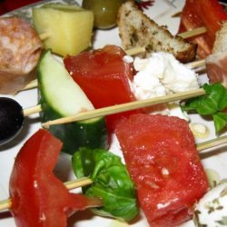 Quick and Easy Appetizer Skewers recipe