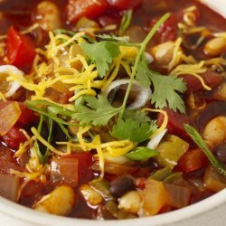 Vegetable Bean Chili recipe