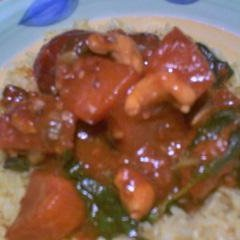 Rainbow Veggie Curry 2 recipe