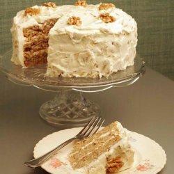 Walnut Hummingbird Cake recipe