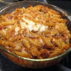 Baked Turkey Ziti recipe