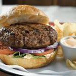 Honey Garlic Burgers With Sweet and Sour Mayonnaise recipe