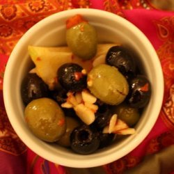 Marinated Moroccan Olives recipe