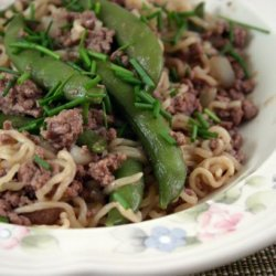 Asian Beef and Noodle Toss recipe