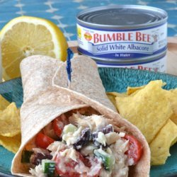 Tuna Salad Wraps recipe
