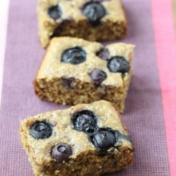 Blueberry Oat Cake recipe