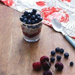 White Chocolate Cherry Parfaits recipe