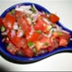 Low Fat Spicy Tomatoes Salad (Kosher-Pareve) recipe