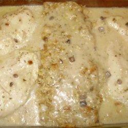 One Dish Chicken & Stuffing Bake recipe