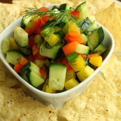 Chunky Cucumber Salsa recipe