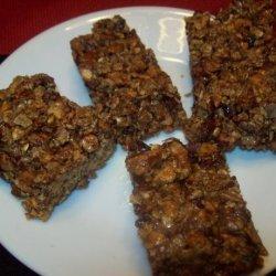 Nut and Granola Bars recipe