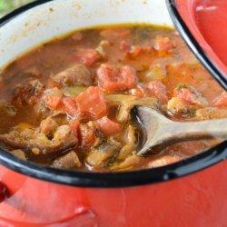 Tomato Mushroom Soup recipe