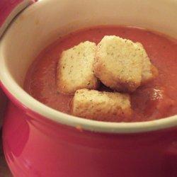 Red Pepper Tomato Soup recipe