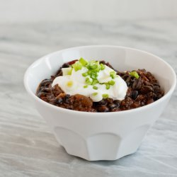 Black Bean and Chorizo Chili recipe