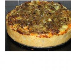 Caramelized Onion and Sweet Potato Tart recipe