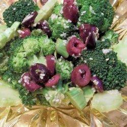Broccoli and Olive Salad recipe