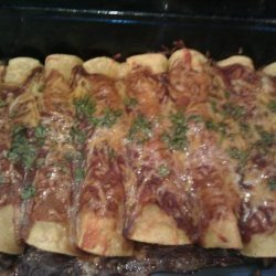 Jacki's Black Bean Enchiladas recipe