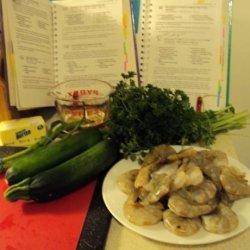 Shrimp in White Wine Sauce recipe