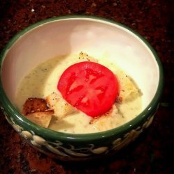 Roasted Potato Leek Soup recipe