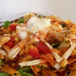Taco Salad Buffet recipe