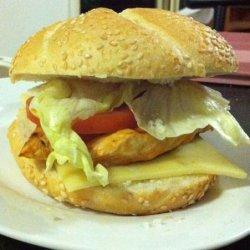 Tex - Mex Chicken Sandwiches recipe