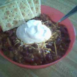 Bush's Three Bean Chili recipe