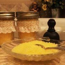 Lemon  Bath Salts Gift in a Jar recipe